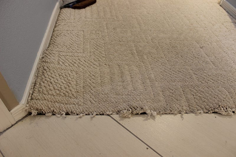 Before And After Peoria Carpet Repair Amp Cleaning
